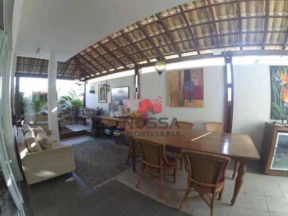 Cobertura Linear 3 Quartos Com 2 Suítes Em Jardim Da Penha. - Co0016