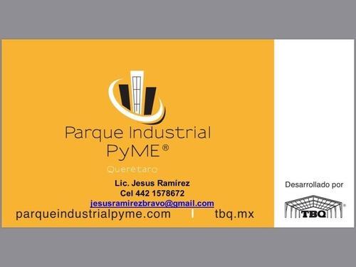 Terreno Industrial En Venta Parque Industrial Pyme