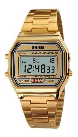 Relógio Feminino Digital Vintage Skmei 1123 Original C/caixa