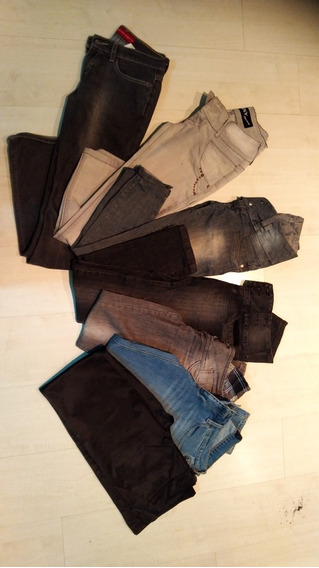 Lote Calça Jeans Feminina N38 Bazar Brecho