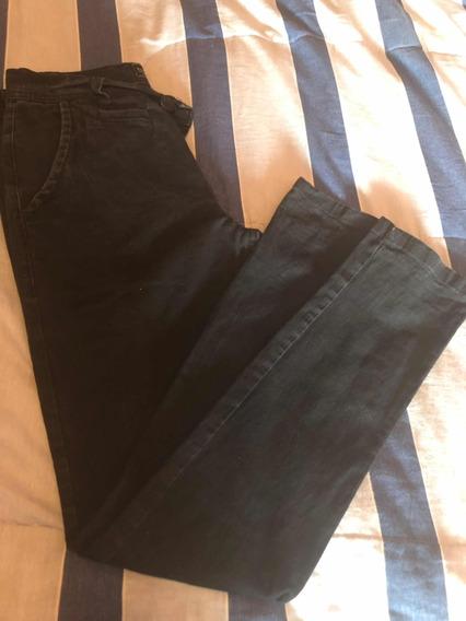 Pantalón Jeans Tipo De Vestir Negro