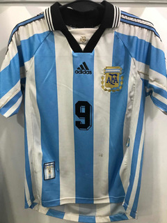Camiseta De La Selección Argentina 1998 9 Batistuta