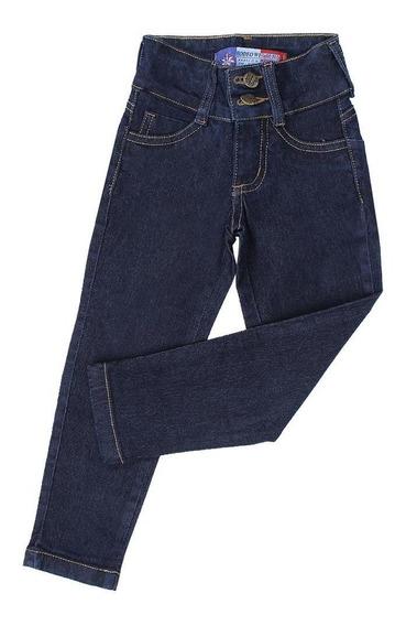 Calça Jeans Infantil Feminina Modelo Slim Fit - Rodeo Wester