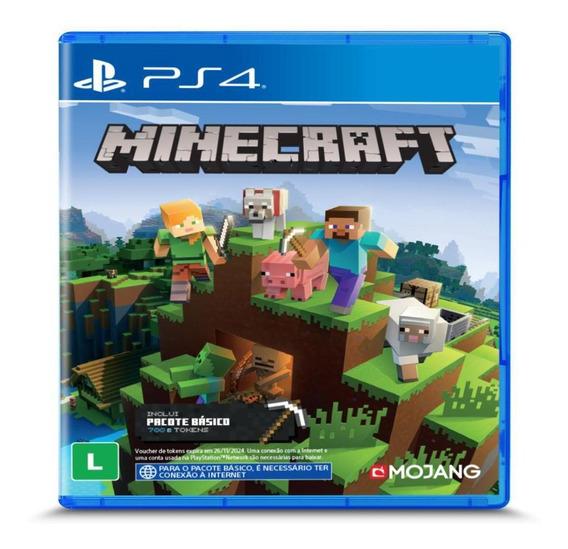 Jogo Midia Fisica Minecraft Starter Collection Ps4