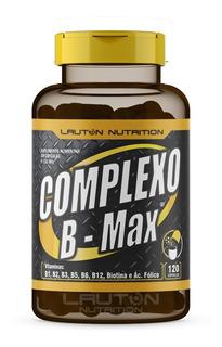 Complexo B - Max B9 Ácido Fólico 120 Caps Lauton Nutrition