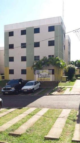 Imagem 1 de 15 de Apartamento Com 2 Dormitórios À Venda, 56 M² Por R$ 165.000 - Chácara Bela Vista - Sumaré/sp - Ap0923