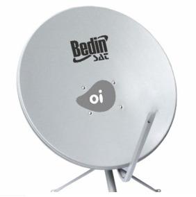 Antena Parabólica Tv Banda Ku Chapa 75 Centímetros