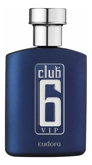 Club 6 Vip Perfume Masculino Eudora Do Boticário 95 Ml