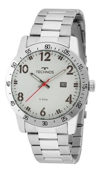 Relógio Technos Original Masculino 2115mms/1b Com Nota
