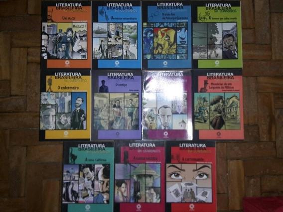Literatura Brasileira Em Quadrinhos 11 Volumes Ed. Escala