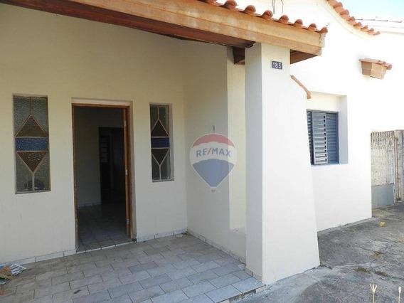 Casa Com 2 Dormitórios Para Alugar, 90 M² Por R$ 750,00/mês - Centro - Nova Odessa/sp - Ca0193