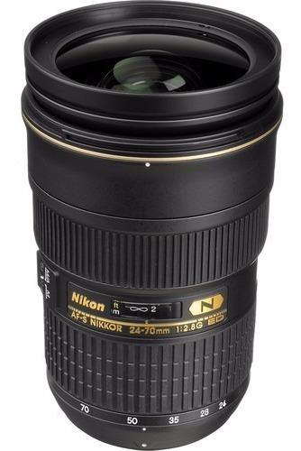 Lente Nikon Af-s 24-70mm F2.8g Ed Af-s 1 Ano Garantia Nikon