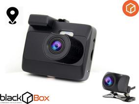 Câmera Veicular Black Box Gp6 + Câmera Traseira Hd 720 + Gps