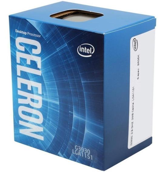 Processador Intel Celeron G3930 2mb 2.9ghz Lga 1151