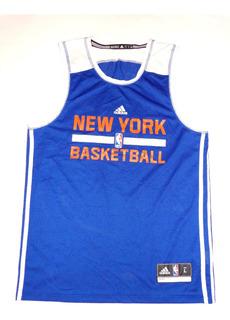 adidas Jersey De Basquetball New York Caballero Talla S
