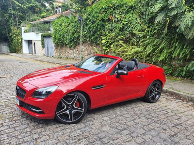 Mercedes Slk Vermelha 2013