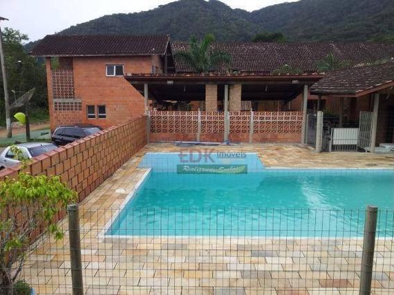 Flat Com 3 Dormitórios À Venda, 120 M² Por R$ 190.000 - Maranduba - Ubatuba/sp - Fl0007