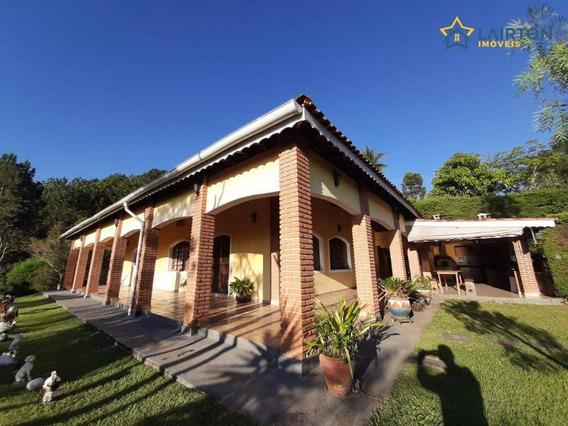Chácara Com 3 Dormitórios À Venda, 3000 M² Por R$ 430.000,00 - Jardim Dos Pinheiros - Atibaia/sp - Ch1149