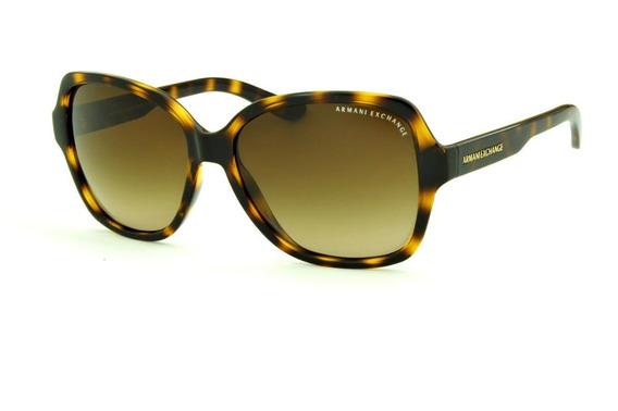 Oculos Sol Armani Exchange Ax4029s Marrom