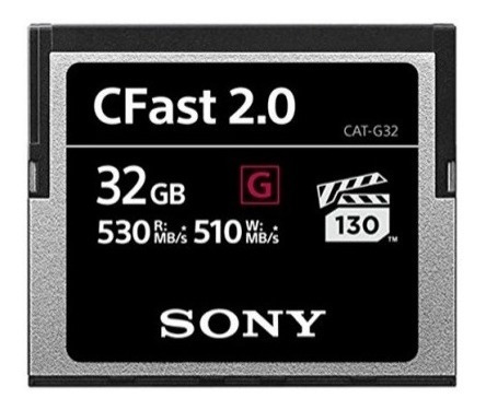 Cartão Cfast 2.0 Sony (32gb)