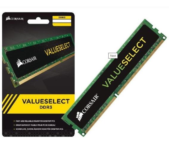 Memoria Ram Corsair Ddr3 4gb 1600 Mhz Valuesect