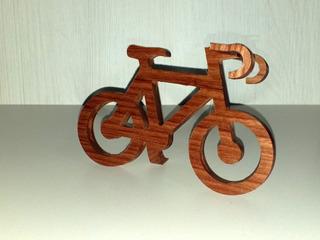 Miniatura Bicicleta - Modelo Speed Madeira (frete Grátis)