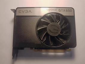 Placa De Vídeo Evga Gtx 650 1gb Sc