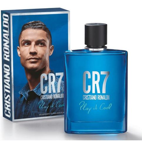 Perfume Cr7 Play It Cool 100 Ml Cristiano Ronaldo Masculino