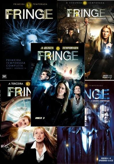 Série Fringe Fronteiras 1, 2, 3, 4 E 5 Temporadas Completas