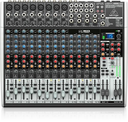 Behringer Xenyx X2222-usb Consola Mixer Con Efectos Oferta!!