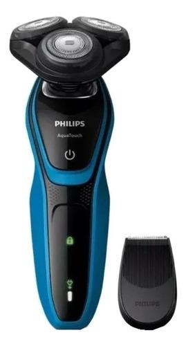 Imagen 1 de 4 de  Philips AquaTouch S5050 turquesa y negra 100V/240V