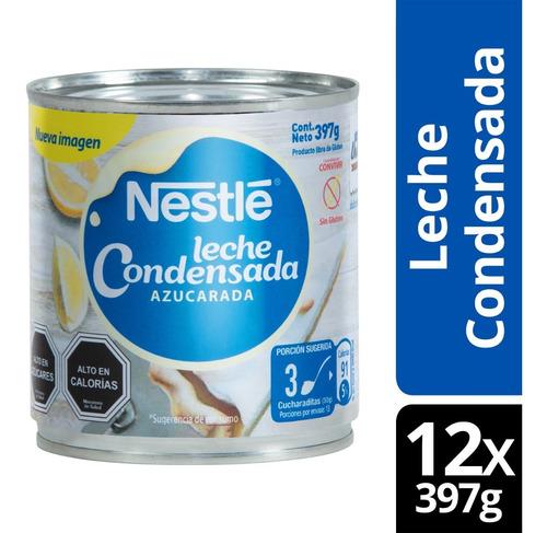 Leche Condensada Nestle 397g Tarro Pack X12