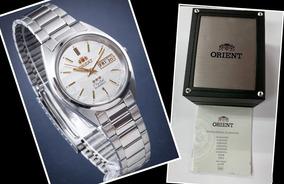 Relógio Automático Orient Fab00007w9 Original 3 Star X Caixa