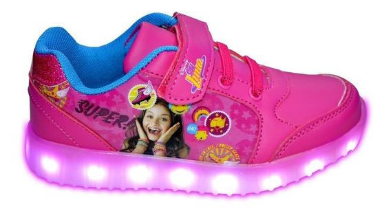 Zapatillas Soy Luna Casual Luces Led Mundo Moda Sl10324