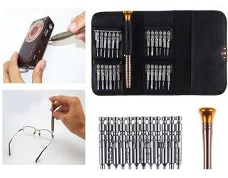 Kit Acessórios Micro Chaves Reparo 24 Pç. Celular, Notebook, Tablet, Relógio, Etc. = Promoção