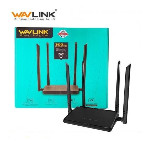 Router Wifi Wavlink Wn529n2p 11n 300mbps