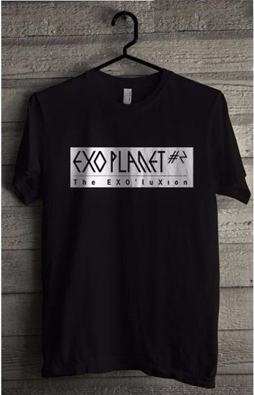 Camiseta Exo Planet - Lançamento Top 100% Algodão