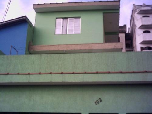 Imagem 1 de 14 de Sobrado Com Duas Casas À Venda, 3 Vagas - Bairro Planalto - São Bernardo Do Campo  - 15462
