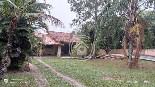 Imagem 1 de 12 de Chácara Com 3 Dormitórios À Venda, 1104 M² Por R$ 460.000,00 - Colinas Do Piracicaba (ártemis) - Piracicaba/sp - Ch0041
