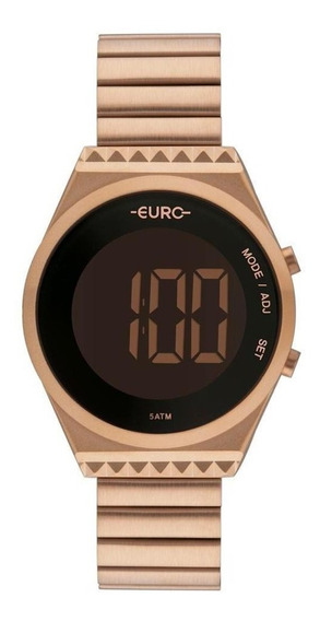 Relógio Euro Fashion Fit Slim Feminino Rosé Eubjt016ab/4j