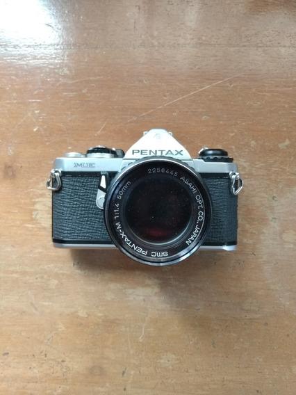 Câmera Pentax Me Lente 50mm
