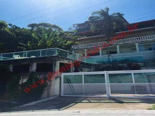 Imagem 1 de 12 de Venda - Casa Em Condomínio - Jardim Belmar - Guarujá - Sp - D0367