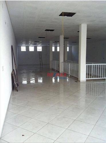 Salão Com 250 M² Na Vila Galvão Para Locação! - Sl0016