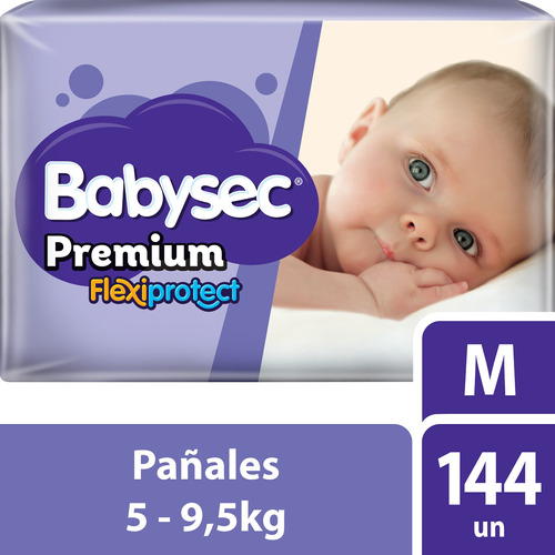 Pañalesbabysec Premium M X 144 - Bebés Y Niños