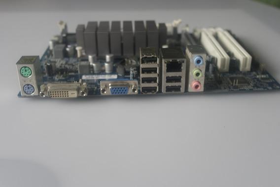 Placa Mãe Hdc-m Ddr3 Com Processador Integrado Amd