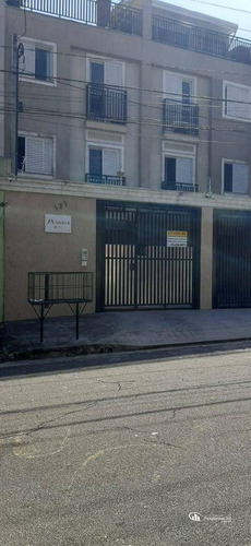 Imagem 1 de 17 de Cobertura Com 2 Dormitórios À Venda, 80 M² Por R$ 285.000 - Vila Linda - Santo André/sp - Co0080