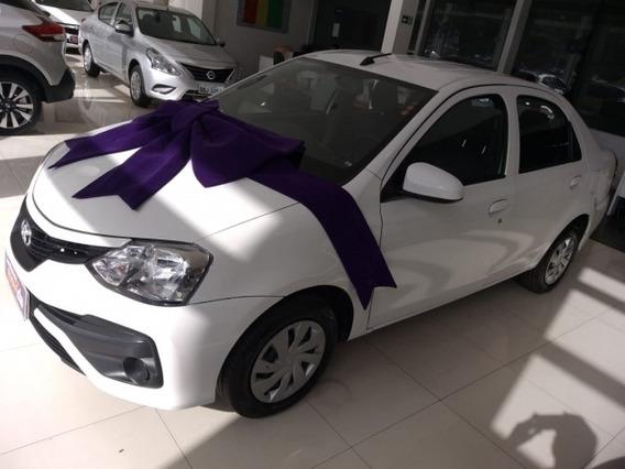 Etios 1.5 X Sedan 16v Flex 4p Automático 27141km