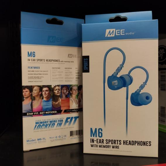 Fone In Ear Mee Audio M6 Sport Teal