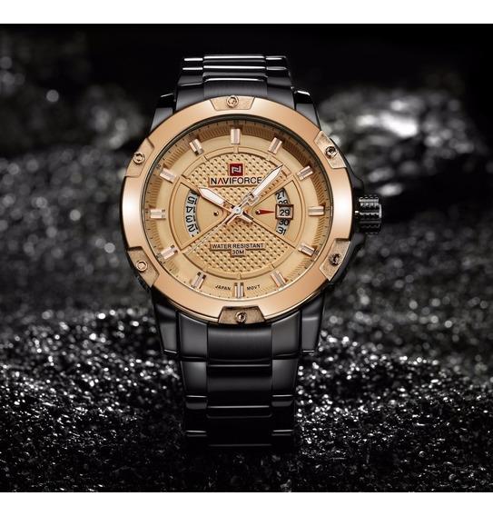 Relógio De Pulso Masculino Naviforce Nf 9085
