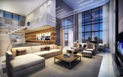 Cobertura Com 4 Dormitórios À Venda, 475 M² Por R$ 13.527.936 - Vila Olímpia - São Paulo/sp - Co0038